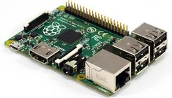 Obr. č. 1: Raspberry Pi model B+ FASTER EVOK Zelená data